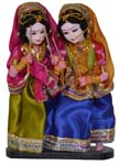 Dandiya Lady Pair Doll