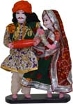 Rajasthan Couple Doll