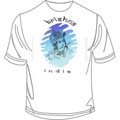 Krishna White Large T Shirt