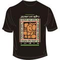 Window Ganesha Black Large T Shirt