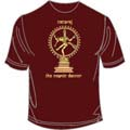 Natraj Wine Large T Shirt